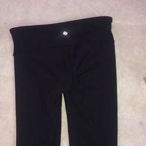 Lululemon black leggings (not cropped)